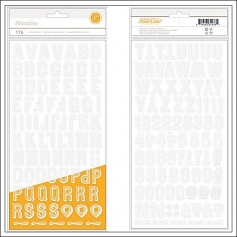 Studio Calico Thicker Stickers Chipboard Mistable Resist Wonderlust Collection