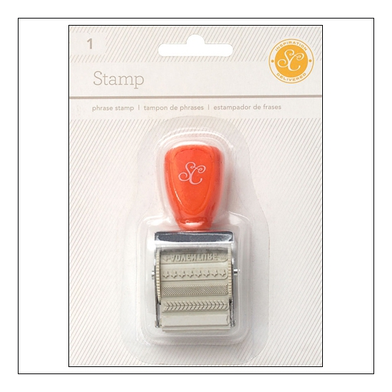 Studio Calico Roller Phrase Stamp Wanderlust Collection