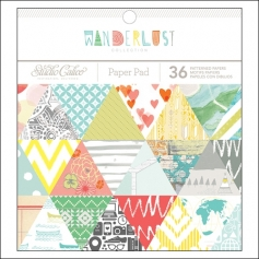 Studio Calico Paper Pad 6x6 Wanderlust Collection