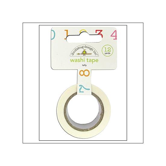 Doodlebug Washi Tape Tally