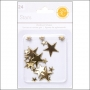 Studio Calico Chipboard Stars Gold Essentials Collection