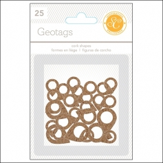 Studio Calico Cork Geotags Essentials Collection