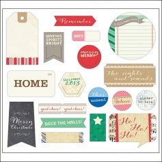Elles Studio Bits and Pieces Noel Collection