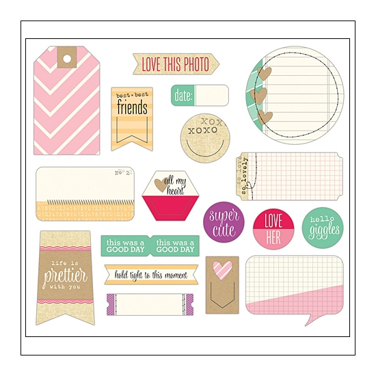 Elles Studio Bits and Pieces Penelope Collection
