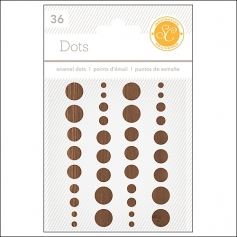 Studio Calico Enamel Dots Woodgrain Essentials Collection