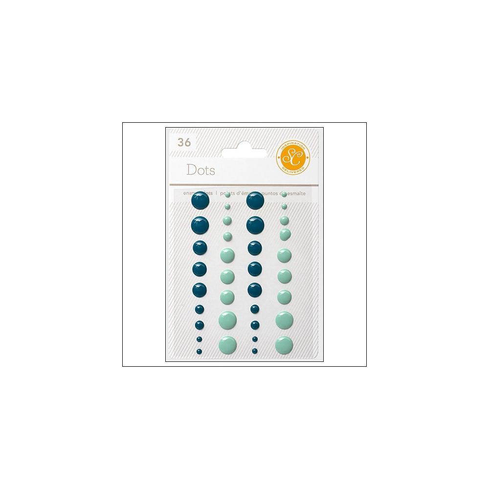 Studio Calico Enamel Dots Blue and Aqua Essentials Collection