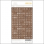 Studio Calico Tiny Alpha Stickers Woodgrain Essentials Collection