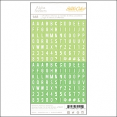 Studio Calico Tiny Alpha Stickers Greens Essentials Collection