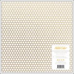 Studio Calico Vellum Paper Sheet Gold Punchinella Lemonlush Collection