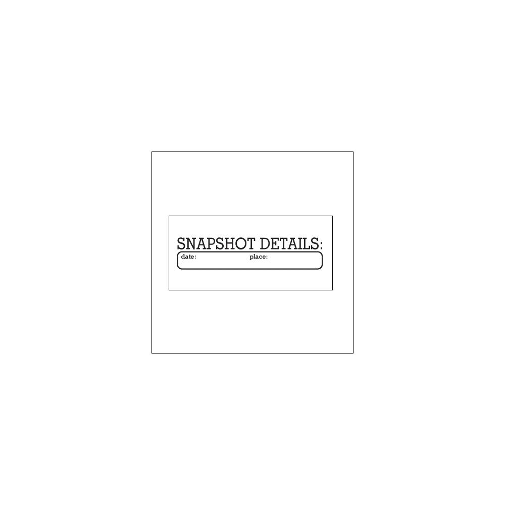 Elles Studio Clear Stamp Snapshot Details
