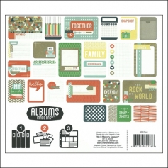 We R Memory Keepers Albums Made Easy Journaling Cards 3x4 and 4x6 Notable Collection