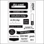 Elles Studio Clear Stamps Daily Details