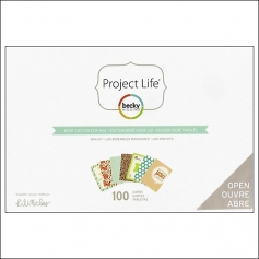 American Crafts Project Life Mini Kit Baby Edition For Him by Lili Niclass /Becky Higgins