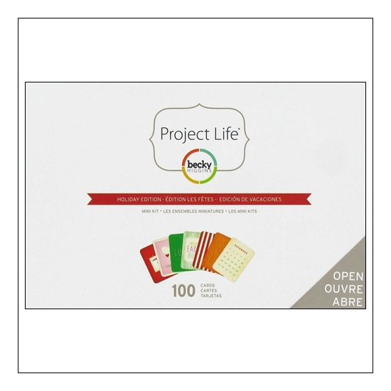 American Crafts Project Life Mini Kit Holiday Edition by Becky Higgins