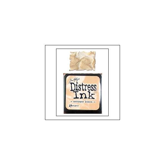 Ranger Distress Ink Pad Cube Antique Linen by Tim Holtz