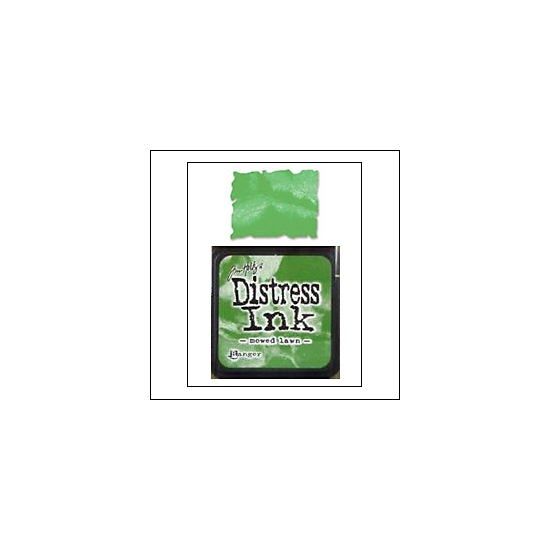Ranger Distress Ink Pad Cube Mowed Lawn by Tim Holtz