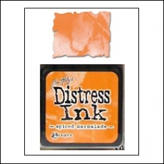 Ranger Distress Ink Pad Cube Spiced Marmalade by Tim Holtz