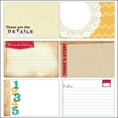 Elles Studio Large Journaling Tags Everyday Collection
