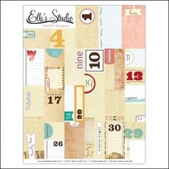 Elles Studio Layered Numbers