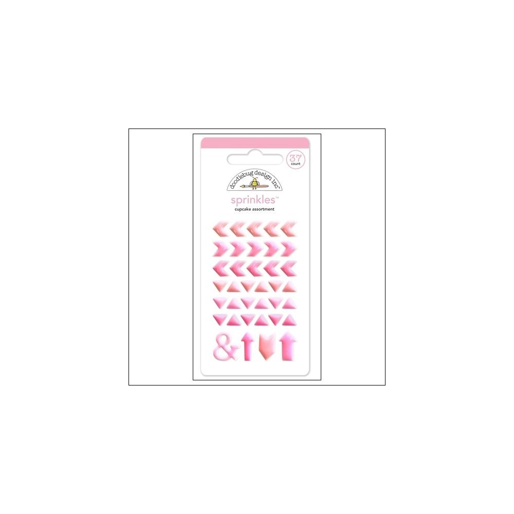 Doodlebug Sprinkles Cupcake Arrow Stickers