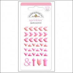 Doodlebug Sprinkles Cupcake Arrow Stickers