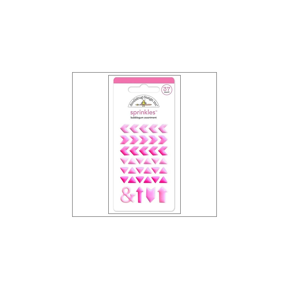 Doodlebug Sprinkles Bubblegum Arrow Stickers