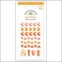 Doodlebug Sprinkles Tangerine Arrow Stickers
