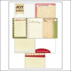 Elles Studio Note Tags Christmas