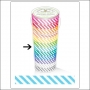 Doodlebug Washi Tape Candy Stripe Swimming Pool
