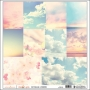 Websters Pages Vellum Sheet Sky Our Travels Collection by Adrienne Looman