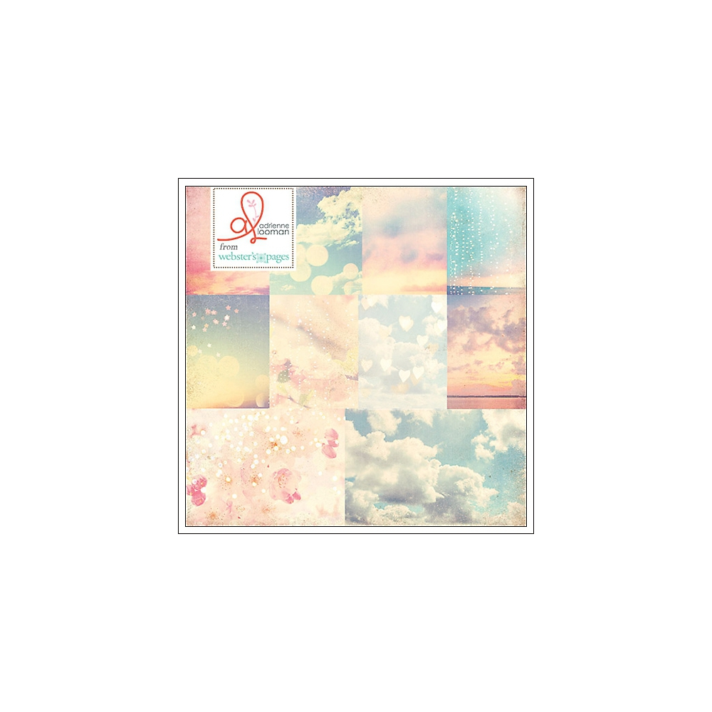 Websters Pages Paper Sheet Pretty Sunsets Our Travels Collection by Adrienne Looman