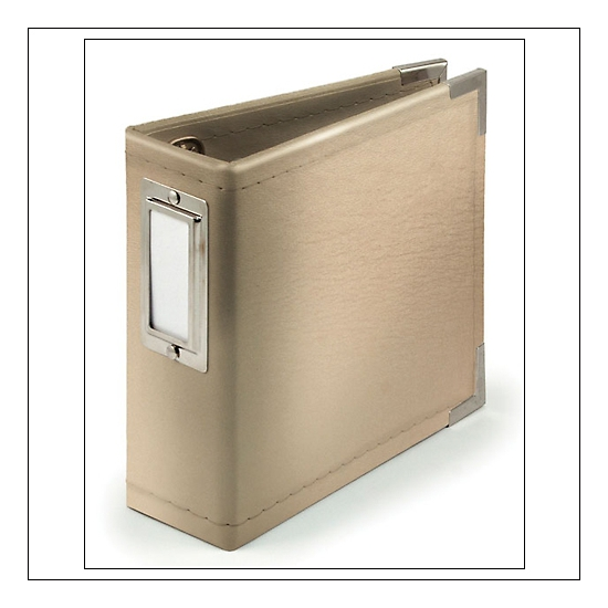 We R Memory Keepers Albums Made Easy Instagram Classic Leather Gold