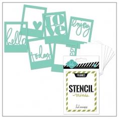 Heidi Swapp Mini Stencil Kit Frames