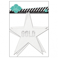 Heidi Swapp Color Magic Watercolor Tags Stars