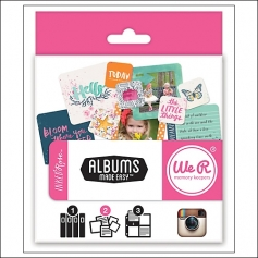 We R Memory Keepers Albums Journaling Cards Made Easy Instagram Inked Rose