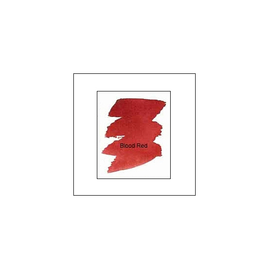 Nicholsons Peerless Transparent Watercolor Sheet Blood Red