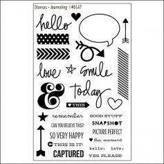 Simple Stories Clear Stamps Journaling DIY Collection