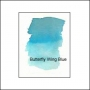 Nicholsons Peerless Transparent Watercolor Sheet Butterfly Wing Blue