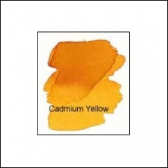 Nicholsons Peerless Transparent Watercolor Sheet Cadmium Yellow
