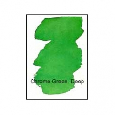 Nicholsons Peerless Transparent Watercolor Sheet Chrome Green