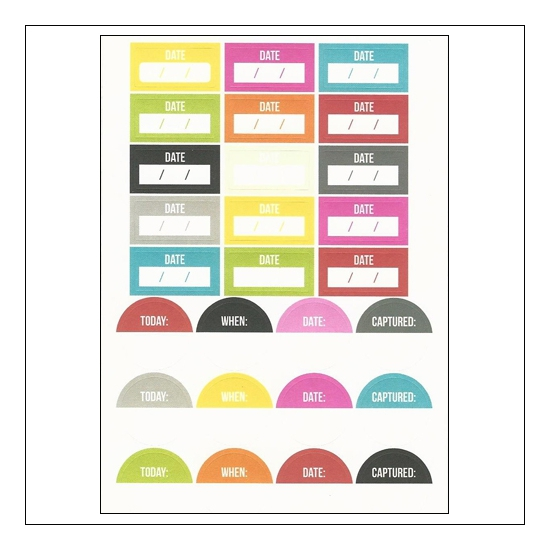 Simple Stories Labels Stickers DIY Collection
