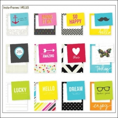 Simple Stories Photo Frames Boutique DIY Collection