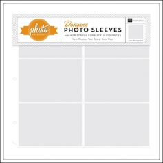 Echo Park Paper Co 12x12 Designer Photo Sleeves 4x6 Horizontal Photo Freedom