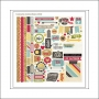 Simple Stories Fundamentals Cardstock Stickers 24 Seven Collection