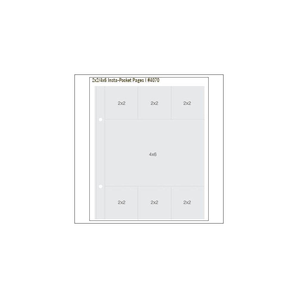 Simple Stories Insta Pocket Pages 2x2 and 4x6 Snap Studio Collection