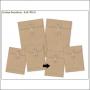 Simple Stories Foundations Kraft Envelope Bracket Edge 3x4 DIY Collection