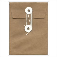 American Crafts Security Envelope Kraft DIY Shop Collection