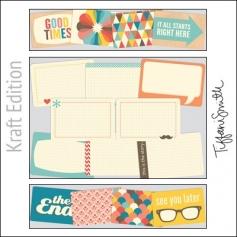 Project Life Core Kit Cards 4x6 Kraft Edition by Tiffani Smith/Becky Higgins