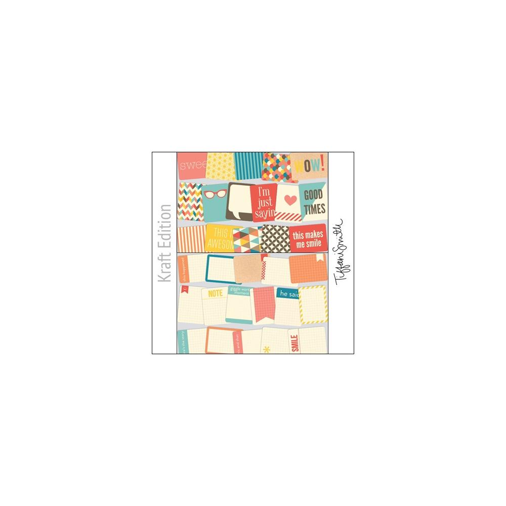 Project Life Core Kit Cards 3x4 Kraft Edition by Tiffani Smith/Becky Higgins