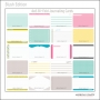 Project Life Core Kit Bi-Fold Cards 4x6 Blush Edition by American Crafts/Becky Higgins